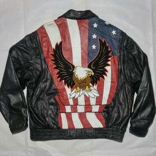 jaket kulit leathet together