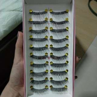 10pairs of Fake Eyelashes