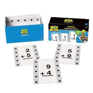 SALE!  BRAND NEW Educational Insights Hot Dots Math Flash Cards- Addition