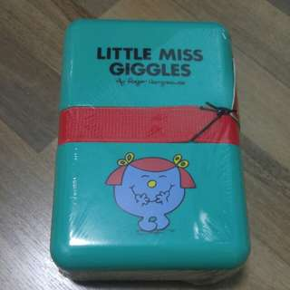 Little Miss Giggles lunchbox