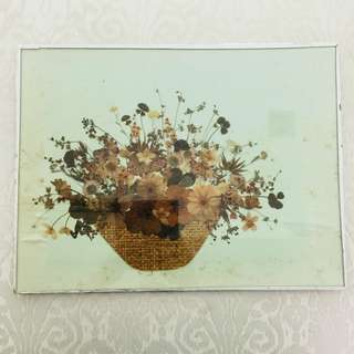 Artworks - Floral Basket (Pressed Flowers)