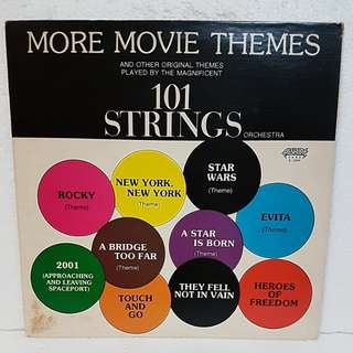 101 Strings - More Movies Themes Vinyl Record