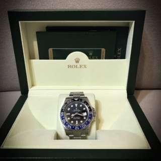 Rolex GMT master 2 Batman 116710 BLNR (mint)