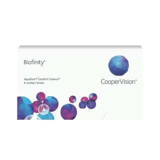 Biofinity lense (monthly)and seed pure 1 day lense
