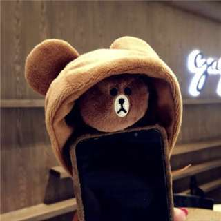 (PO) Line Hat Phone cover