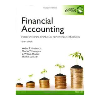 Financial Accounting: Global Edition International Financial Reporting Standards 9th Edition BY Walter Harrison, Charles Horngren, Bill Thomas, Themin Suwardy