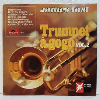 James Last - Trumpet A GoGo Vol 2 Vinyl Record