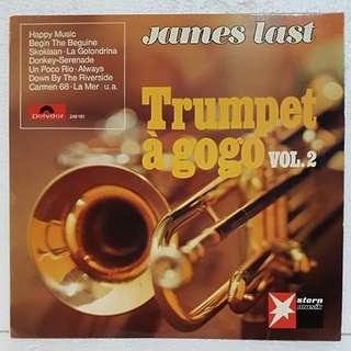 James Last - Trumpet A GoGo Vol 2 Vinyl Record