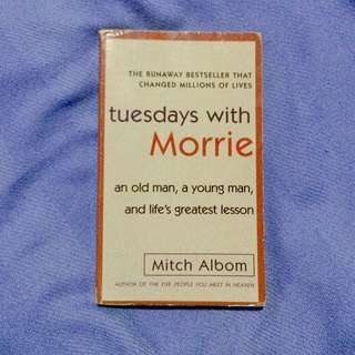 """Tuesdays with Morrie"" by Mitch Albom"