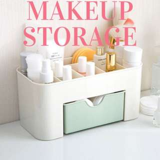 Makeup storage / makeup tools