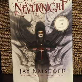 NeverNight by Jay Kristoff Book One( Good-condition book)