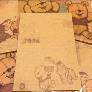 Cute Winnie the pooh and friends notebook/ planner/ Organizer/ Scheduler/ Journal