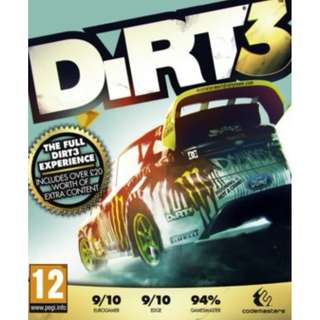 DiRT 3 Complete Edition Steam Key GLOBAL PC