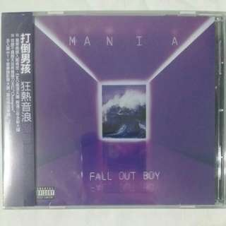 [Music Empire] Fall Out Boy - Mania CD Album