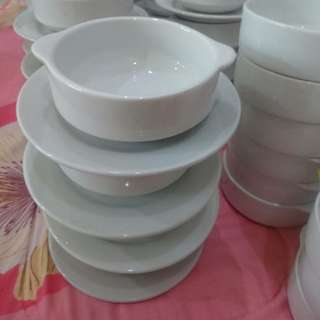Set mangkuk mushroom kaca