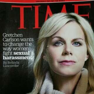 Time magazine 5@ 時代 雜誌 英文 學