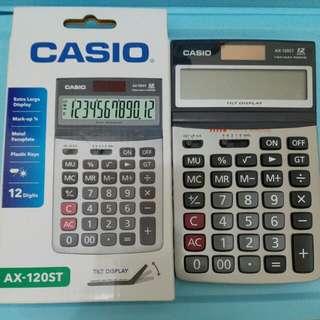 Casio 計數機 AX 120ST 會計 BAFS