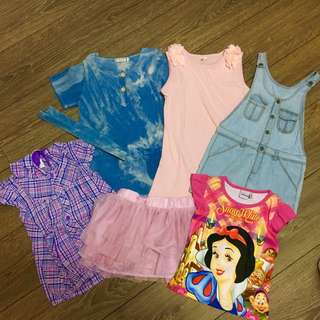Preloved Bundle Clothes (3-5 years)