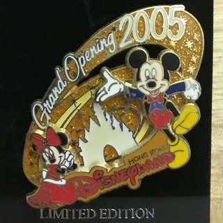 絕版香港廸士尼2005限量紀念襟章