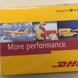 DHL memo pack