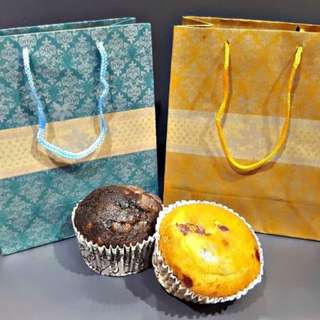 Wedding Favors Feature: Muffin in Bags