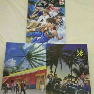 EXO Kokobop The war 淨專 album only (with kai card) (可加錢買kai小卡)