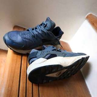 Nike Huarache Blue Force Sneakers