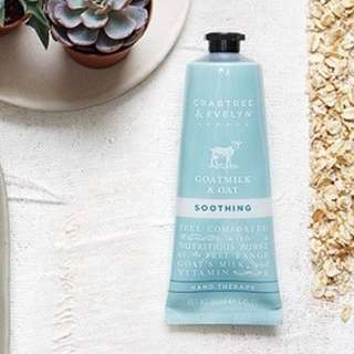 Crabtree & Evelyn - Goatmilk & Oat Hand Therapy