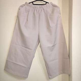 MEIER.Q 白色寬褲