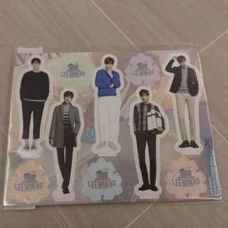 [韓國直送] 李敏鎬人型紙牌公仔 Lee Min Ho Standing Paper Doll
