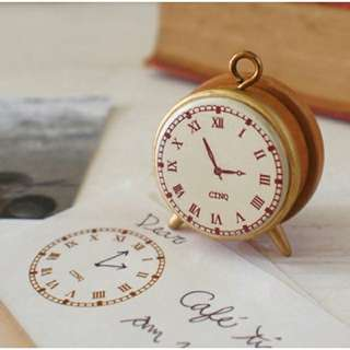 Clock Mini Stamp