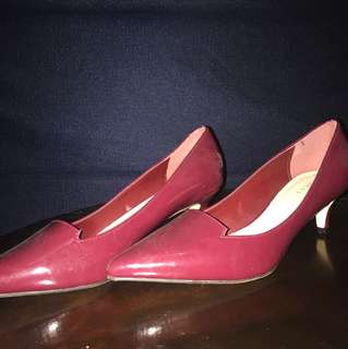 Vincci Shoes Maroon