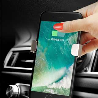 TOTU Car holder PC+silicone+aluminum alloy shockproof phone support stand ORI