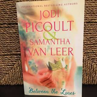 Between the Lines By Jodi Picoult and Samantha Van Leer( Good-condition book)