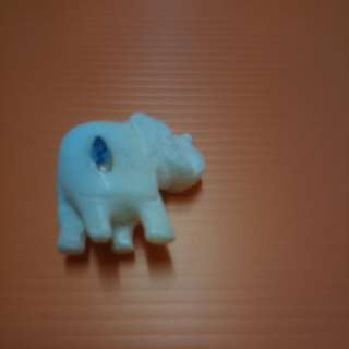 porcelain elephant miniature