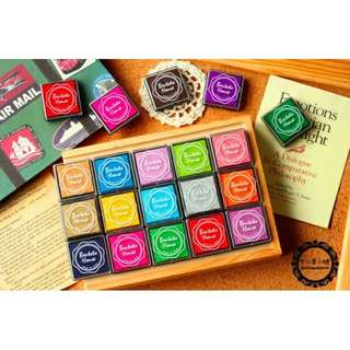 Stamp Pad Set (20pcs)