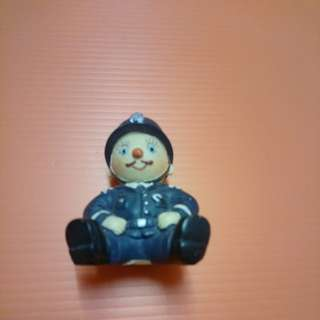 Mr Policeman porcelain miniature