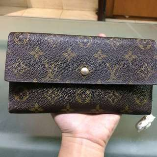 Louis Vuitton wallet envelope monogram
