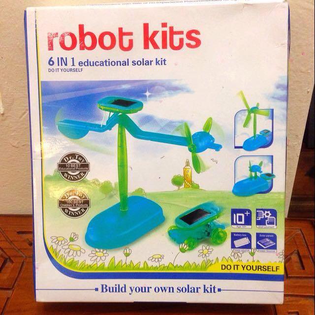 6 in 1 Solar Educational Kit #SpringClean60