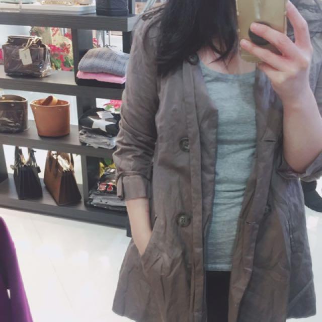輕薄時尚風衣外套