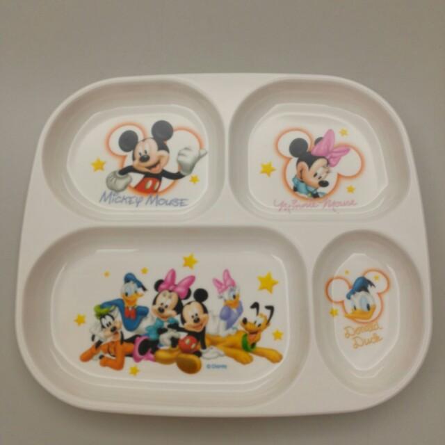 迪士尼 兒童 餐盤