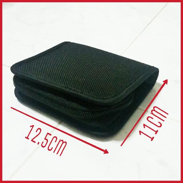 🌟 BN Plain Small Black Pouch
