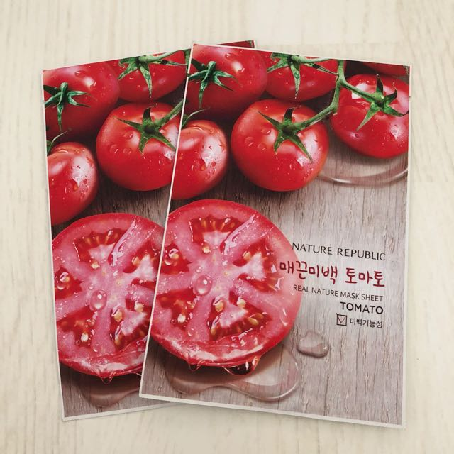 [ NATURE REPUBLIC ] Tomato mask sheets