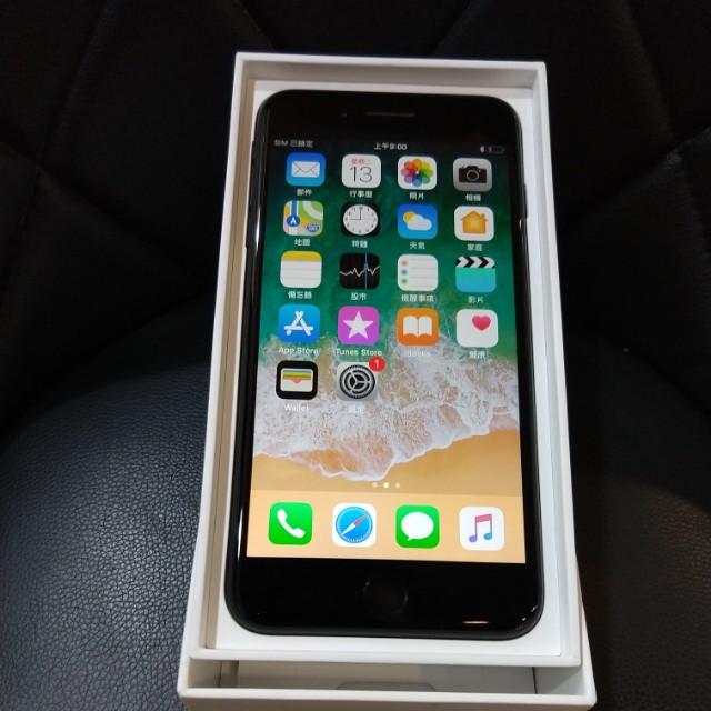 高雄-二手 Second iPhone 7 Plus 128G Black