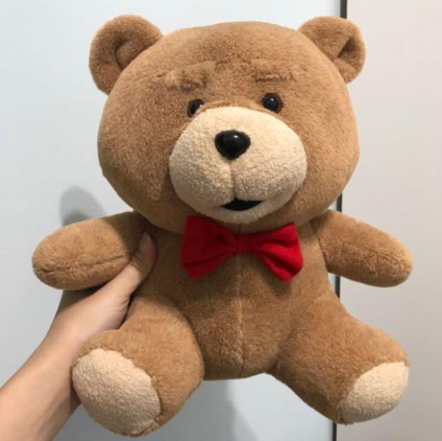 熊麻吉 TED 絨毛娃娃 玩偶