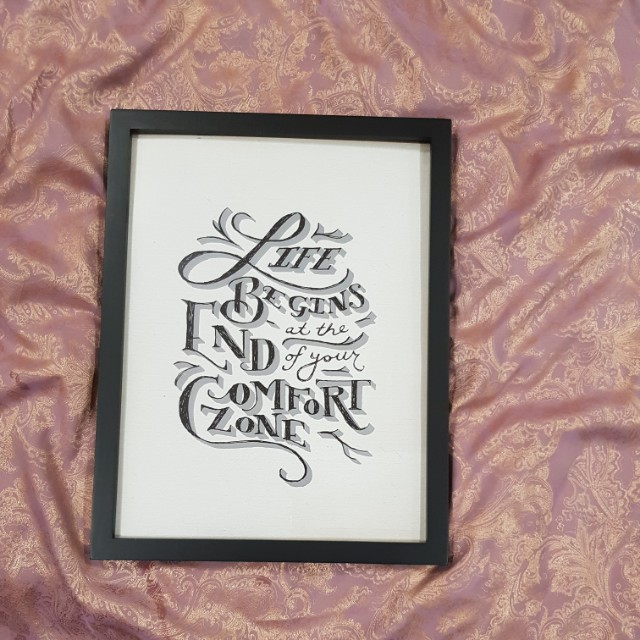 A3 frame life begins at the end of your comfort zone