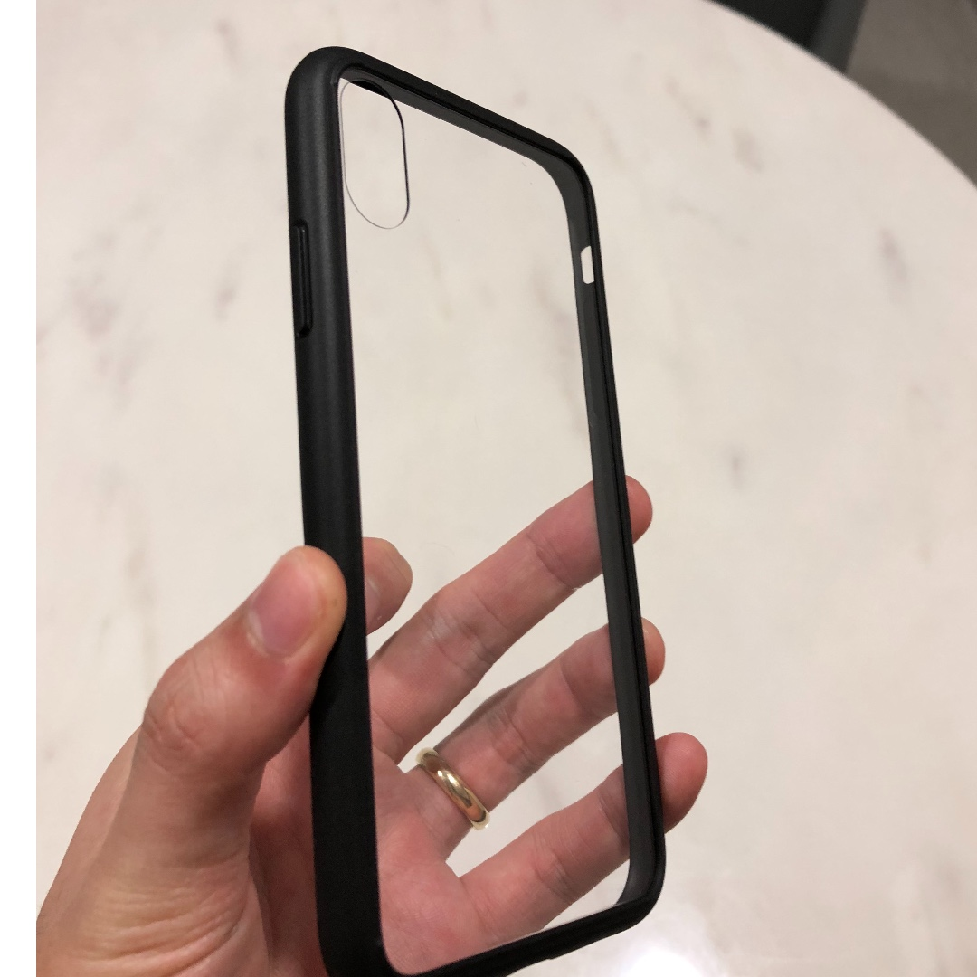 Adidas and bare glass iphone x case