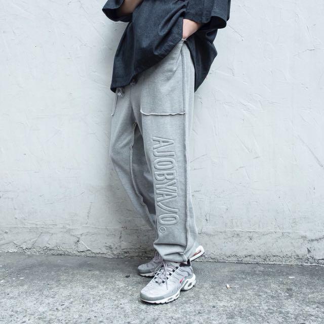 AJOBYAJO-Embo Jogger Pants