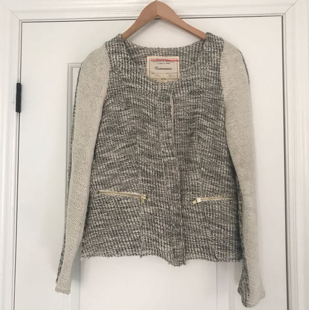 Anthropology sweater jacket
