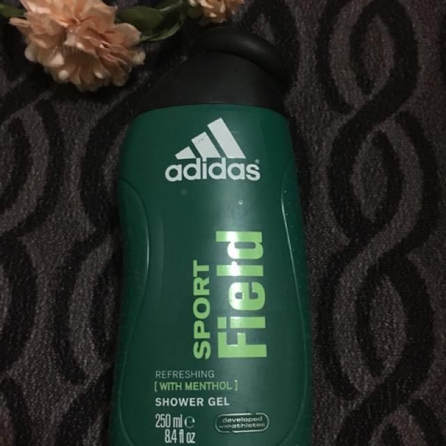 Authentic Adidas sport field shower gel 250ml